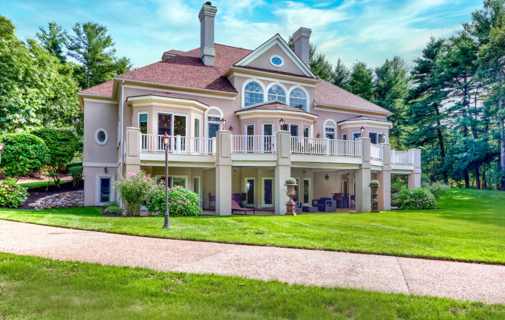 Exterior photograph of 377 Far Reach Road in Westwood MA