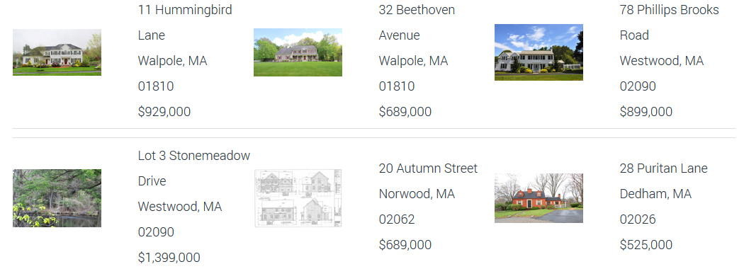 Elena Price Recently Sold Listings