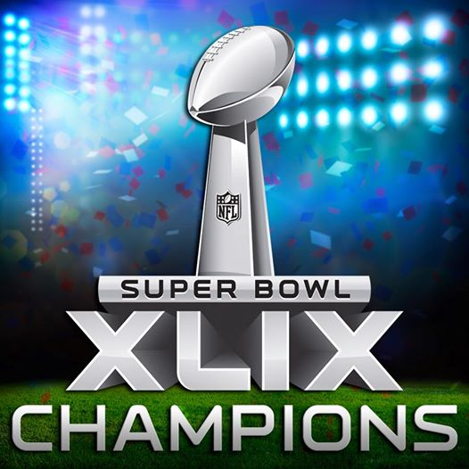 Super Bowl 49 Champions - New England Patriots