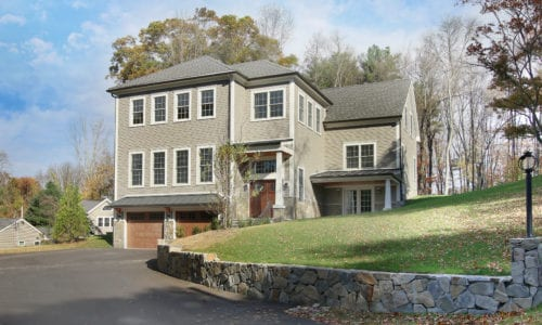 Front Exterior Photograph of 79 Country Lane in Westwood MA