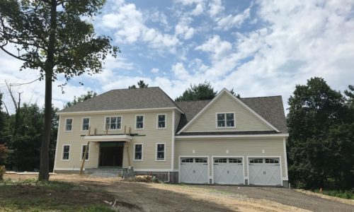 Front Exterior Photograph of 22 Hedgerow Lane, Westwood MA