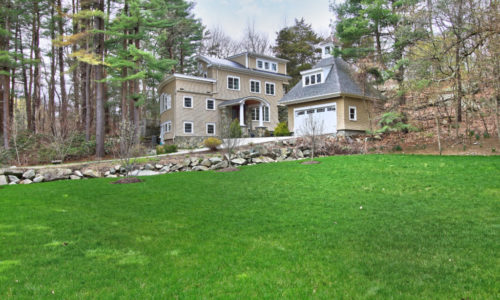 Exterior Photograph of 375 Westfield Street in Dedham MA