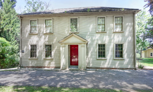 Front Exterior Photograph of 214 Fox Hill Street, Westwood MA