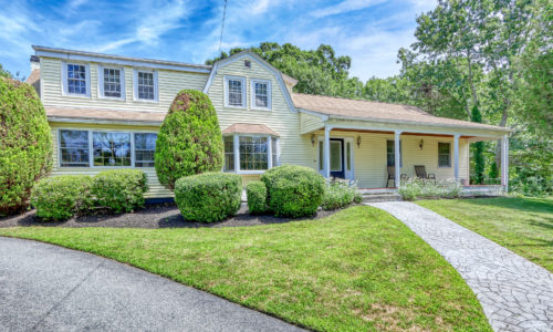 Front Exterior Photograph of 114 Canton Terrace, Westwood MA