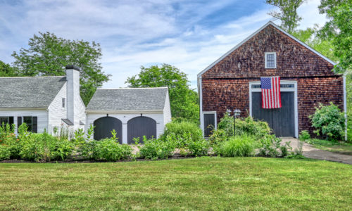 Photograph of Barn at 1062 North Street in Walpole, MA