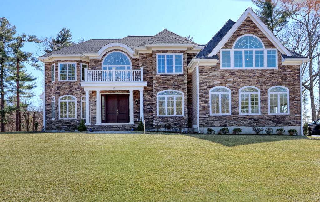 Front exterior photograph of 30 Hedgegrow Lane in Westwood MA