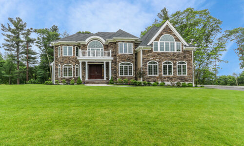 Front Exterior Photograph of 30 Hedgerow Lane, Westwood MA