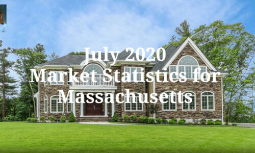 Screenshot of July 2020 Market Statistics Video