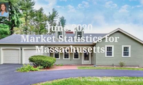 Screenshot of June 2020 Market Statistics Video