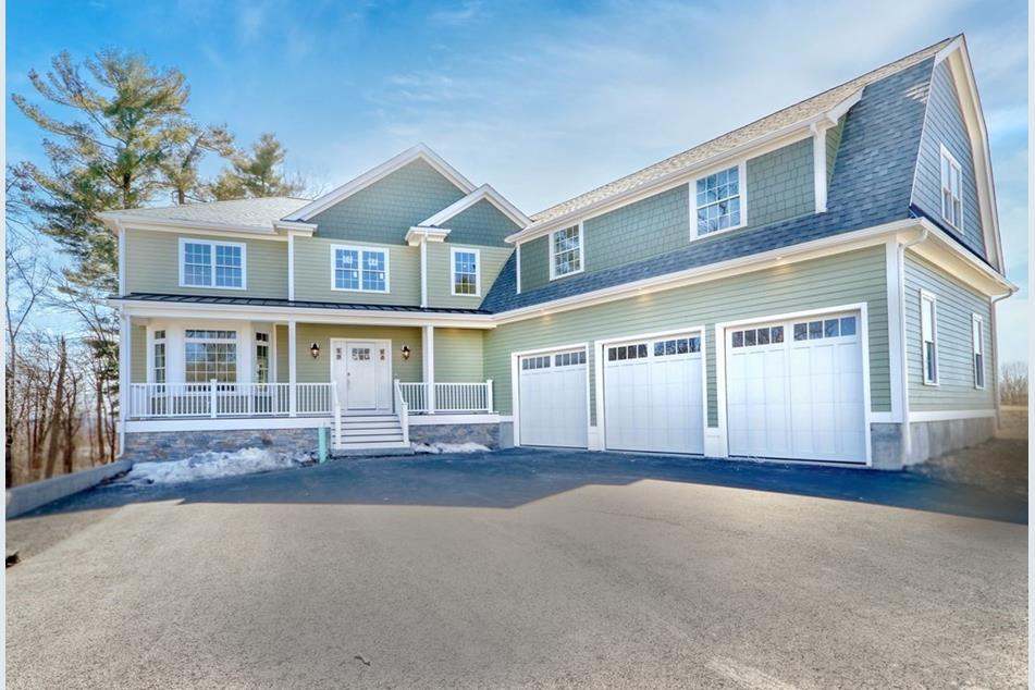 Front exterior photograph of 26 Hedgerow Lane in Westwood MA